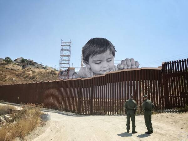 美国和墨西哥边境的墙