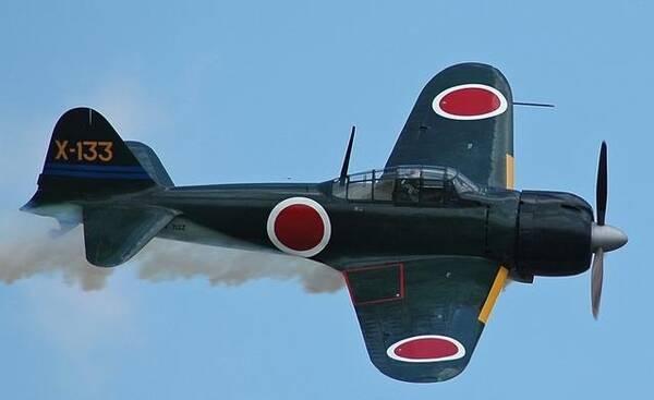 此战中,中国空军被击落24架战斗机,而日本的零式战斗机无一损失.