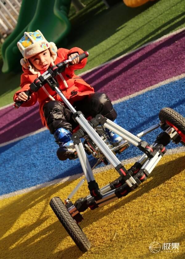 """送孩子一辆车,不如教孩子自己动手做一辆车 — """"一起玩""""变形积木童车图片"""