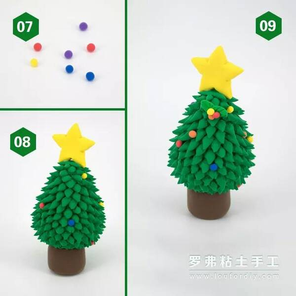 罗弗教程 疯狂圣诞来袭 萌萌哒圣诞树分步骤教程