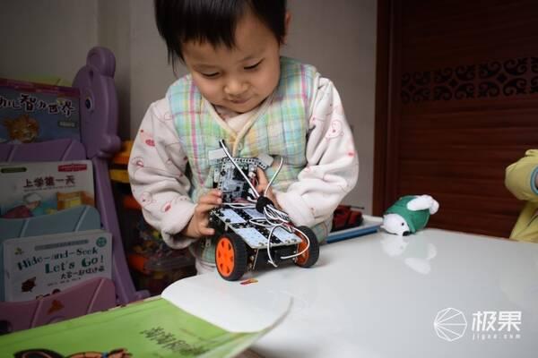 比乐高机器人还好玩,边拼装边学习编程知识 — 小盖茨机器人小创客图片