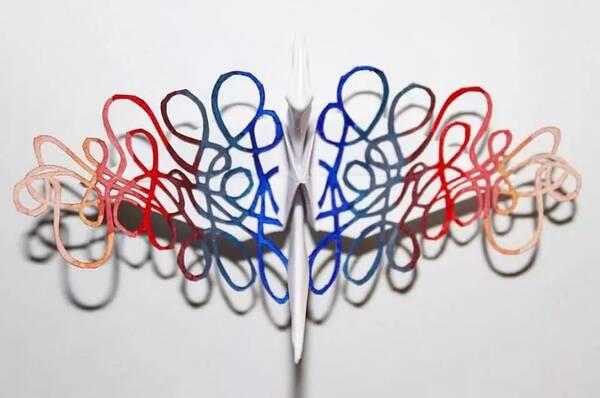 四瓣花盆折纸步骤图