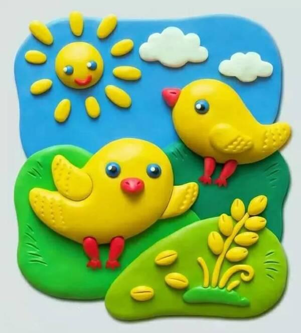 幼儿园橡皮泥手工制作,含步骤!-师讯网推荐