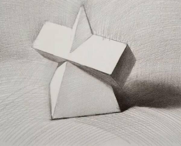 几何体素描看图不会画,点点出详细教程教你画图片