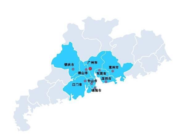 广东、江苏、山东、浙江,是国内实力最强的4个省份。而广东,是名副其实的中国第一经济大省,经济总量占全国的1/8。自1989年起,广东国内生产总值已经连续28年居全国第一位。不仅如此,四大一线城市中,广东就独占两席广州和深圳。广东珠三角9市将联手港澳打造粤港澳大湾区,成为与纽约湾区、旧金山湾区、东京湾区并肩的世界四大湾区之一。  广东与香港、澳门、广西、湖南、江西及福建接壤,与海南隔海相望。全省陆地面积17.