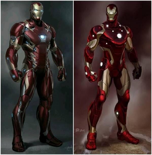 复仇者联盟3 钢铁侠最强战甲完整造型曝光,血刃战甲 全新全异