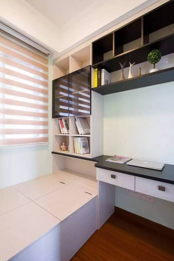 小户型书房 客房,有个榻榻米,绝对是最佳选择!