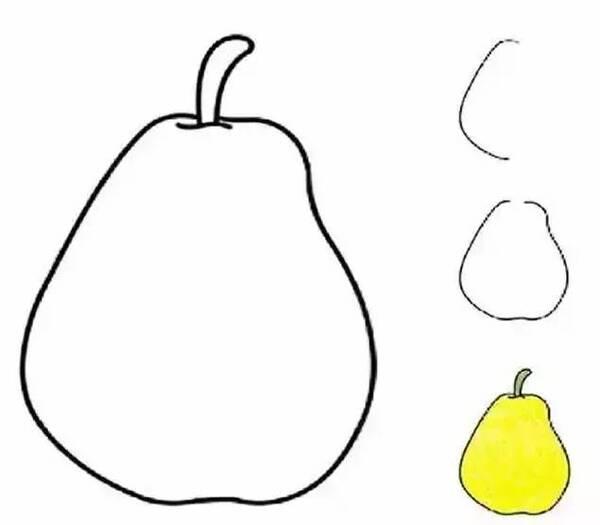 香蕉简笔画步骤画法