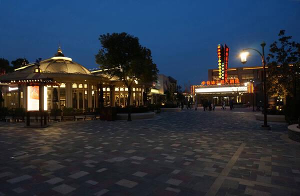 夜摄迪士尼小镇