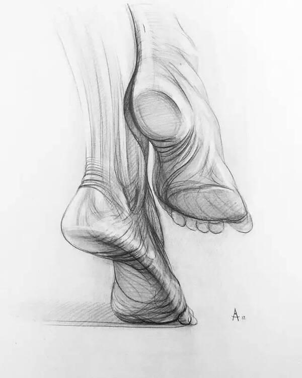 人体结构练习作品