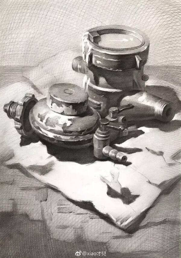 油画罐子作画步骤