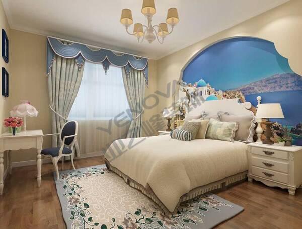 床头背景墙石膏线装饰-床头背景墙效果图欧式-床头线