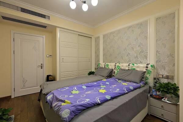 秦皇岛装修 89现代美式,好喜欢这张皮沙发,优雅!图片