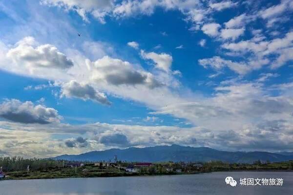 花海汉中旅游文化节城固分会场启动仪式暨花海毅行活动在桃花岛举行