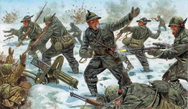 赤手空拳突出重围——意大利军人的逃命技能举世无双