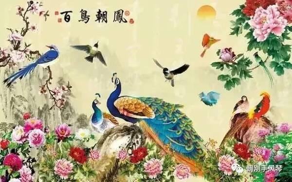 民乐经典《百鸟朝凤》,方圆改编、手风琴演奏视频欣赏
