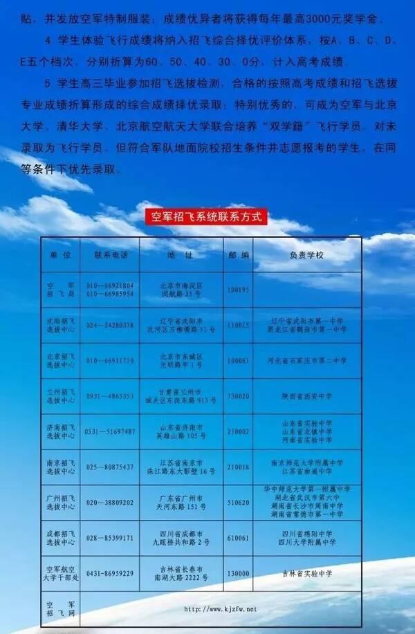 权威发布 | 想考飞行员的高中生、初中生、军校