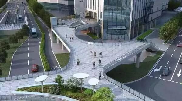 地铁,商圈无缝衔接!这些空中连廊工程又有新进展