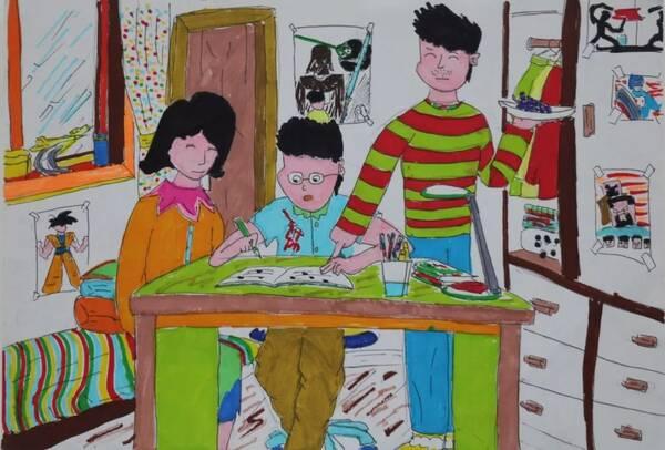 儿童画 600_406