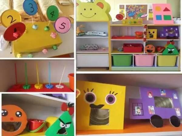 幼儿园区角环创设计,区角游戏从环境开始!图片