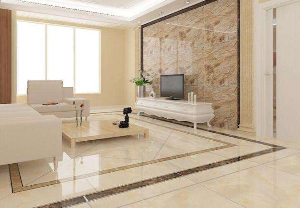 客厅地面装修用什么样的瓷砖好