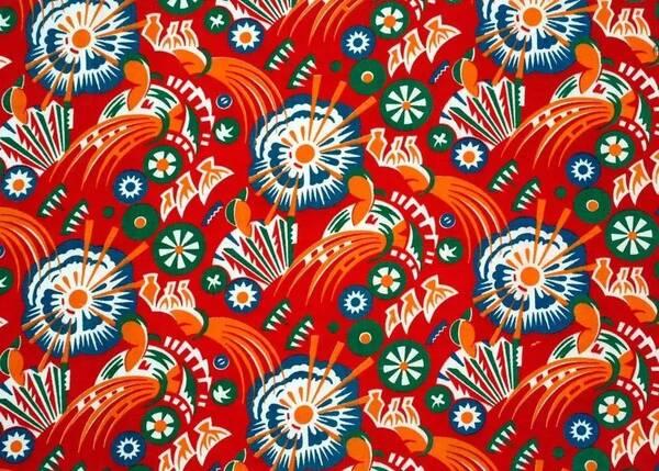 东北大花布壁纸_红绿大花布是东北人的精神图腾,但其实它是上海人的