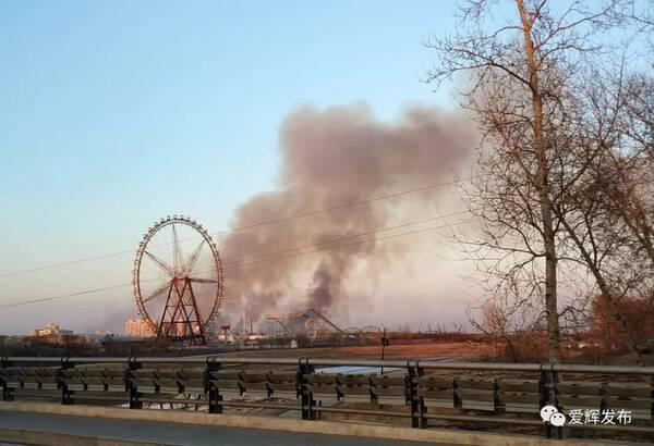 昨日傍晚,黑河大岛方向浓烟四起,真相是