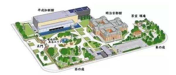 京都国立博物馆平面图