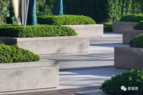 △富于丰富方向景观的树阵广建筑设计的v方向的层次图片
