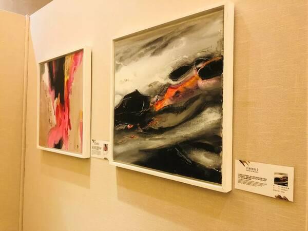 本次展出作品包含中法写生系列,抽象系列,动物系列,以及部分典藏版画