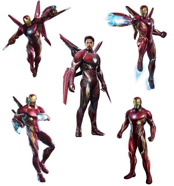 复仇者联盟3 钢铁侠血边战甲评析,人甲合一,钢铁侠最强战甲