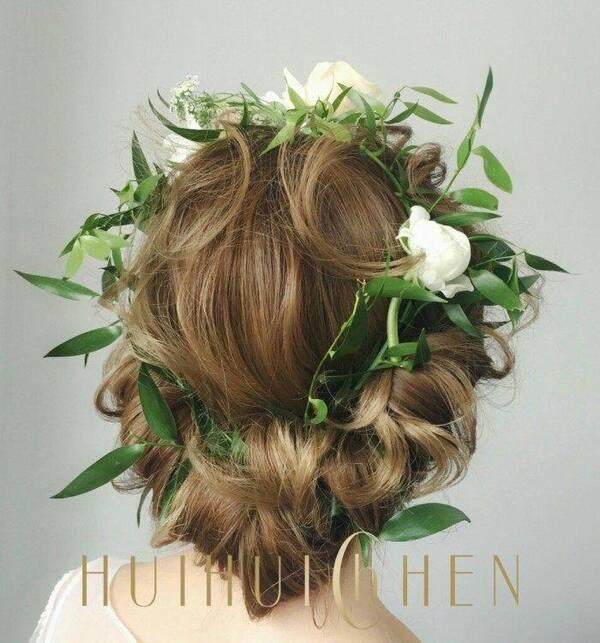 十二星座专属新娘发型,白羊座可爱,天秤座太妖姬!图片