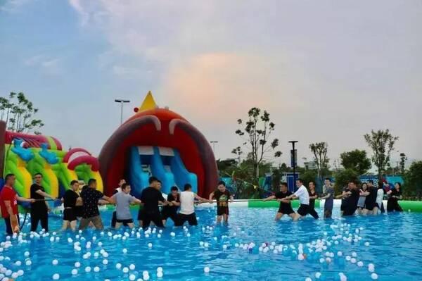 夏天就是要浪浪浪,福州这几个水上乐园今年玩大了.图片