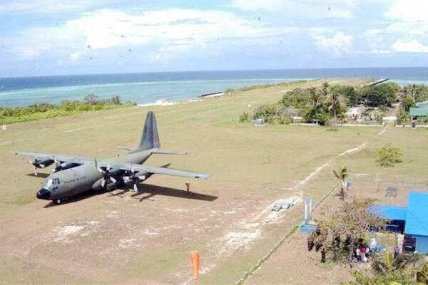 菲媒:菲律宾正在中业岛上翻修机场跑道