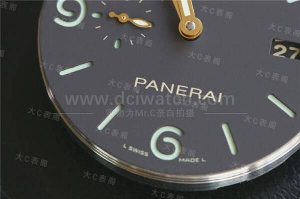 大C论表:沛纳海的世界你了解吗,PAM351拆解