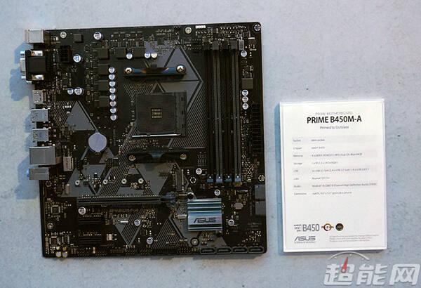 台北电脑展:华硕展示b450主板系列,还有可连20块显卡的主板 .