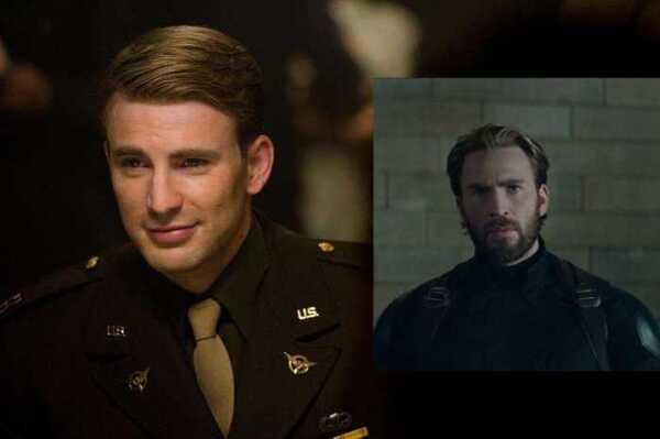 复仇者联盟:相比雷神和黑寡妇的新发型,美国队长大胡子更抢镜图片