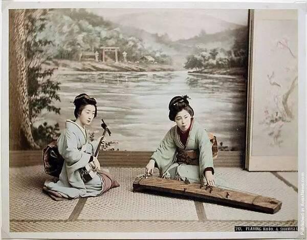 日本早期摄影:没有他,100年前的日本便是黑白的图片