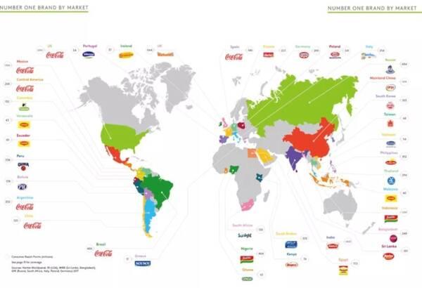 世界销售地图矢量图