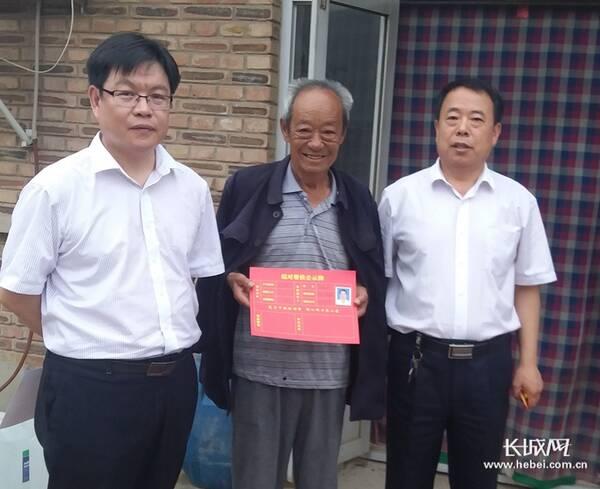 中国银行沧州南皮支行到定点扶贫村开展