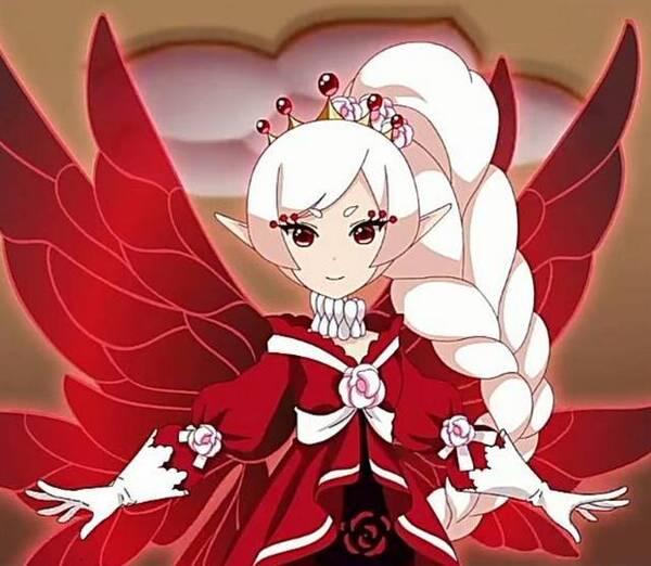 """动漫卡通:""""神奇""""的花仙子,轻盈的翅膀真漂亮!图片"""