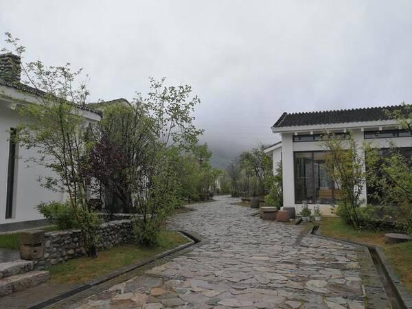 来太白小镇度假区,住鳌山小筑、游云溪别墅,观空调用石头啥客厅图片