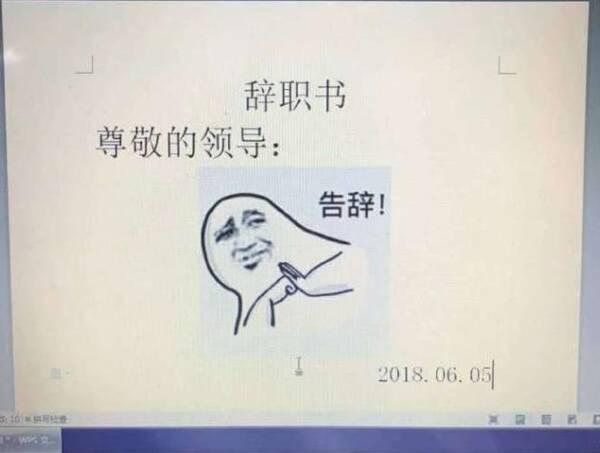 程序员写出1一份优秀的辞职信?网友笑道:告高潮美女表情包动态图图片