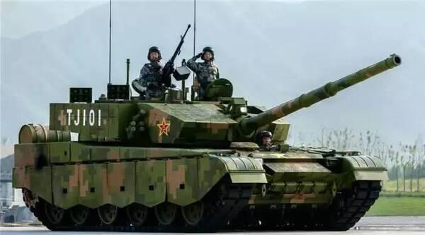 信息主战——99a式主战坦克