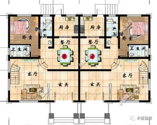 看一些室内的平面设计图