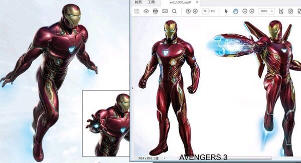 《复仇者联盟3》登场的马克50号战甲,这对于钢铁侠这个角色是不同寻常