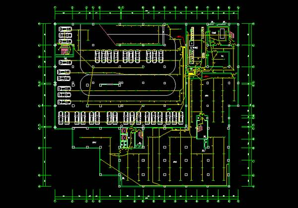 CAD电气电气图库符号图纸获取?附素材资堆垛机图纸巷道图片