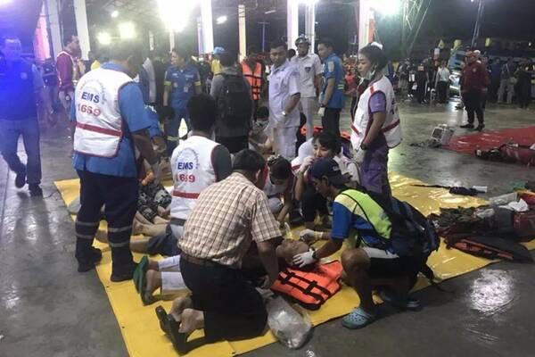 """泰国沉船事故遇难者升至13人,""""应该都是中国人"""""""
