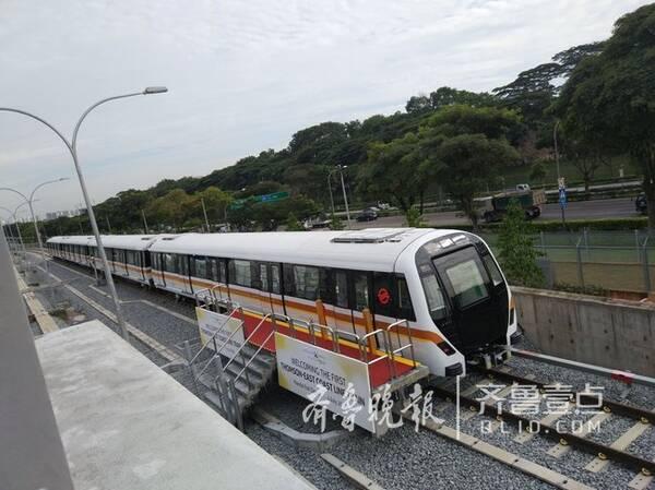 中车青岛造无人驾驶地铁车辆驶向海外,全自动运行