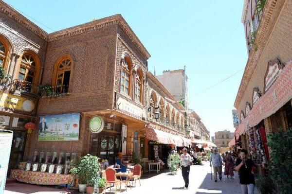 在喀什逛喀什噶爾古城